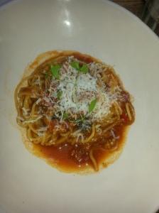 a seefood pasta