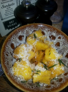 some great polenta chips